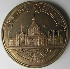 1893 World Columbian Exposition So-Called Dollar HK-154, Official Medal