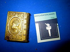 KING EDWARD VII LONG LIVE THE KING MATCH HOLDER VESTA CASE MATCH SAFE STRIKER