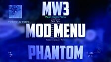PS3 Mw3 Phantom Mod Menu Co Host Rental recovery service rank up god mode class