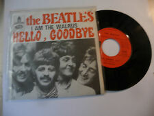 "THE BEATLES"" HELLO GOODBYE-disco 45 giri ODEON France 1967"" (12)"