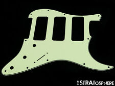 *NEW Mint Green 3 P-90 Stratocaster PICKGUARD for Fender Strat 3 Ply 3 P90s