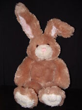 "Build a Bear 15"" Plush Soft Body Easter Bunny Rabbit Beige Long Eared Lot B"