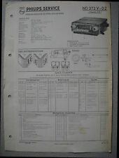 PHILIPS nd372v-02 Autoradio SERVICE MANUAL Edizione 09/58