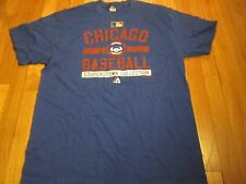 NEW MAJESTIC MLB CHICAGO CUBS COOPERSTOWN COLLECTION T-SHIRT SIZE L