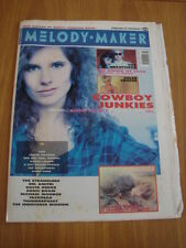 MELODY MAKER 1990 FEBRUARY 24 COWBOY JUNKIES CREATURES JULIAN COPE JULEE CRUISE