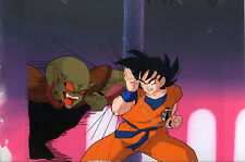 Dragonball Z Dragon Ball Anime Cel Match Background Goku Ginger Deadzone Movie