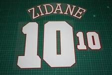 France 96/98 #10 ZIDANE Homekit Nameset Printing