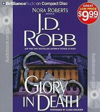 Glory in Death by J.D. Robb Compact Disc Book (English) Abridged 5 CD,S