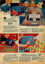 1974 ADVERTISEMENT Viewmaster Kenner Projector Archie Motor Mouse Scooby Do