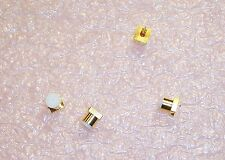 QTY (2) 19S102-40ME4 ROSENBERGER SMD SMP STRAIGHT PLUG ROHS