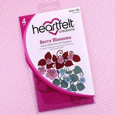 Heartfelt Creations Cut & Emboss Dies ~ Berry Blossoms, HCD1-793 ~ NIP