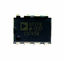 5pc DIP IC Low Noise Precision Operational Amplifier OP27G AD ( OP27 OP Amp )