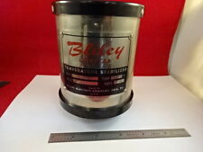 VINTAGE BLILEY QUARTZ CRYSTAL OVEN FREQUENCY CONTROL 100 KC TC922 AS IS &H1-C-17