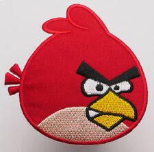 "ANGRY BIRDS ""Red Bird"" Iron-On Embroiderd Patch - MIX 'N' MATCH - #1D02"