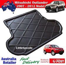 Mitsubishi Outlander Boot Liner Cargo Mat Trunk Protector Tray 2007 - 2012 Model