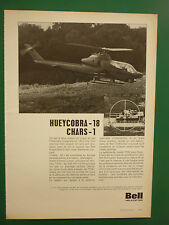 5/1973 PUB BELL HELICOPTER AH-1G HUEYCOBRA TOW MISSILE ANTI TANK ANSBACH RFA AD