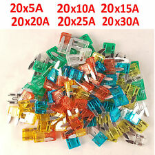 120pcs Mini Blades Car Fuse Set 5/10/15/20/25/30 amp Vehicle /Blade/Spade