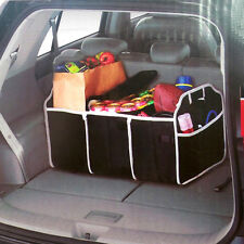 Car Boot Storage Box Shopping Tidy Heavy Duty Collapsible Foldable Organizer New