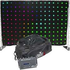 Chauvet DJ Lighting 3m x 2m Matrix RGB Star Cloth Motion Drape LED Starcloth