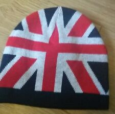 union jack knitted wool beanie hat united kingdom loyalist ulster