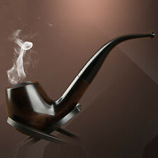 Long Wood Pipes Wooden Pipes Tobacco Smoking Pipes Fashion Noble Gift Ebony Pipe