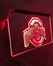 Ohio State LED Sign for Game Room,Office,Bar,Man Cave Super LAST ONE!