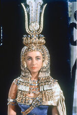 CLEOPATRA ELIZABETH TAYLOR POSTER STRIKING HEAD DRESS