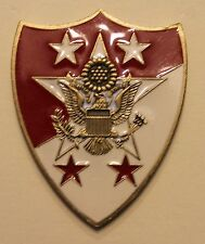 SMA Kenneth O Preston 13th Sergeant Major of the Army Challenge Coin