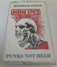 HORROR EPICS - Punks Not Dead Very Rare Cassette Tape