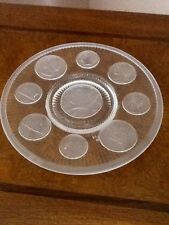 Decorative Plate, Presidential Crystal Coins, Imperial Glass, Mint
