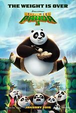 Kung Fu Panda 3 Movie Poster (24x36) - Jack Black, Kate Hudson, Bryan Cranston