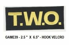 ARMY OF T.W.O. BATTLE UNIFORM VEL-CRO PATCH - GAME39