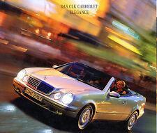 Mercedes-Benz - CLK-Cabrio - Sport - Elegance - Prospekt 02/98  nl-Versandhandel