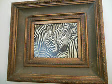 "Zebra Museum Quality ""Masters Style"" Reproduction Oil Painting 8X10"