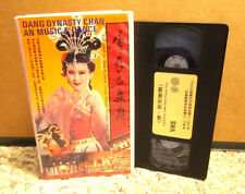 TANG DYNASTY import Shaanxi Province Song & Dance Troupe VHS Huaqing Palace PAL