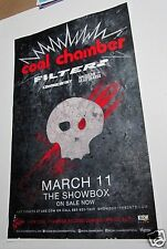 Coal Chamber Filter Combichrist American Head Charge 2015 Concert Gig Poster