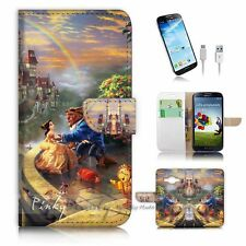 Samsung Galaxy Core Prime G360 Flip Wallet Case Cover! P1959 Beauty and Beast