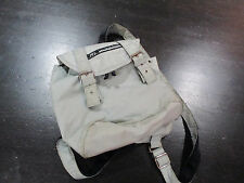 VINTAGE Ralph Lauren Polo Sport Mini Backpack Nap Sack Book Bag Gray School 90s