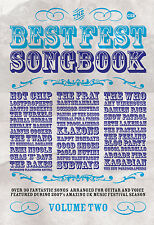 Best Fest Volume 2 Folk Rock Guitar Chords Voice Learn to Play FABER Music BOOK