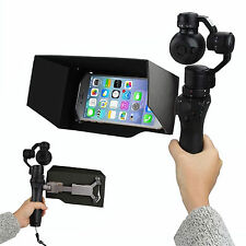 "5.5"" Universal Cellphone Monitor Sun Hood Shade for DJI OSMO Handheld Gimbal #GB"