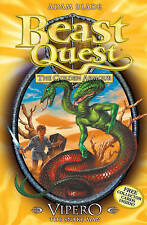Beast Quest: 10: Vipero the Snake Man, Blade, Adam, New Book