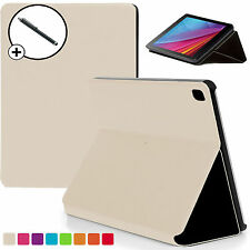 White Clam Shell Smart Case Cover Huawei MediaPad T1 7.0 Plus + Stylus