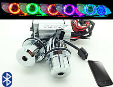 BMW 5 Series E39 E60 E61 20W Bluetooth Multicolour Change Cree LED BMW Angel Eye