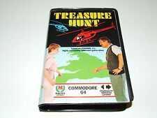 TREASURE HUNT by MACSEN for C64 COMMODORE 64  COMPLETE NICE!