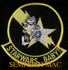 STAR WARS F-14 TOMCAT PATCH VF-33 STARFIGHTERS US NAVY USS PIN UP WING GIFT WOW