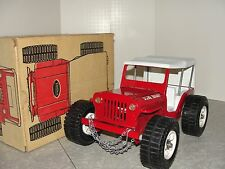 VIntage Tonka Jeep Dune Buggy with Tow Chain in the Box