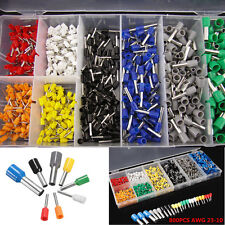 800pc Insulated Car Cable Wire Terminals Crimp Connectors AWG 23-10 Assorted Kit