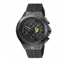 Ferrari Race Day Watch Black Dial #7105