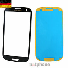Samsung GALAXY s3 i9301 neo DISPLAY VETRO TOUCH SCREEN FRONT GLASS BLU ORIGINALE