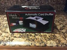 Life Style Automatic Card Shuffler New In Box